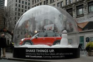 MINIが入ったスノードーム - MINI Snow Globes -
