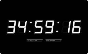 忙しい人のための一日を36時間にする時計 - Flexible 7segment Clock -