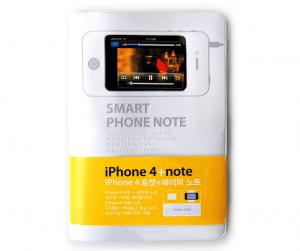 iPhoneを内蔵できる便利なノート - smart phone note -