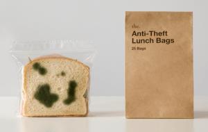 食欲をなくすジップロックバッグ - Anti-Theft Lunch Bags -