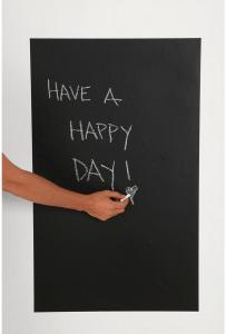 壁を黒板にするステッカー – Chalkboard Wall Decal -