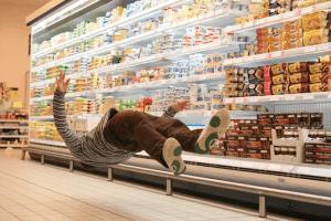 無重力状態のスーパーマーケット - Denis Darzacq -