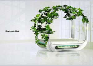 とてもエコな緑に囲まれるベッド - Green Bed -