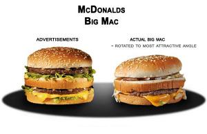 ファーストフードの実物と広告の状態を比較 - Fast Food FAILS -