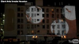 アリに支配された建物 – Giant Ants Invade Houston -