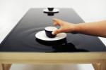 波紋に癒されるテーブル - Ripple effect tea table