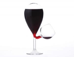 グラスにも酔うアートなワイングラス - Glass Tank -