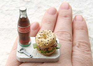 食べちゃいたくなるほど美味しそうな指輪 - Food Rings -