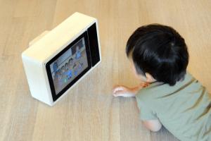 レトロなTV型iPadケース - iPad Retro TV -