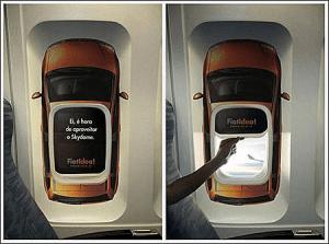 機内や機体を使ったクリエイティブな広告 – Creative Ads On Airplanes -
