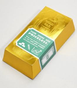 お金持ちの気分に浸れるメモ帳 - Gold Standard Noteblock -
