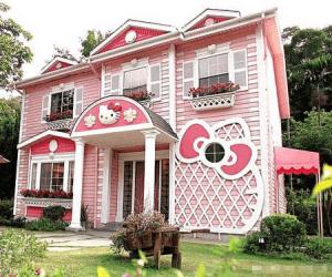 キティちゃんのお家 - Hello Kitty House Design -