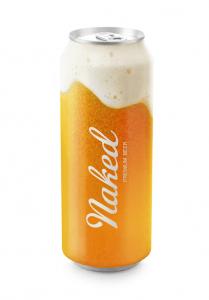 これは美味しそう!ビールを丸裸にして魅力を最大限に表現したパッケージデザイン - Meet Naked Beer -