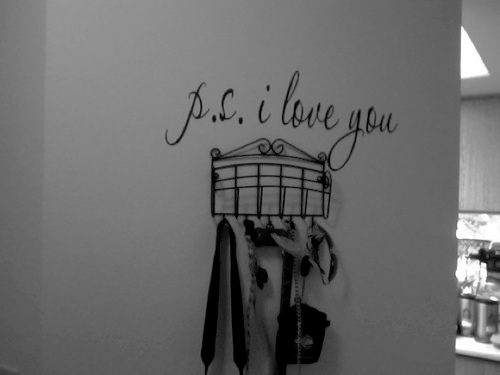 PS I Love You Wall Decal