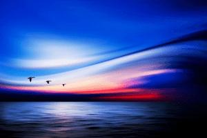幻想的!心洗われる美しすぎるグラデーションの空と水平線 - Beautiful Painterly Pictures -
