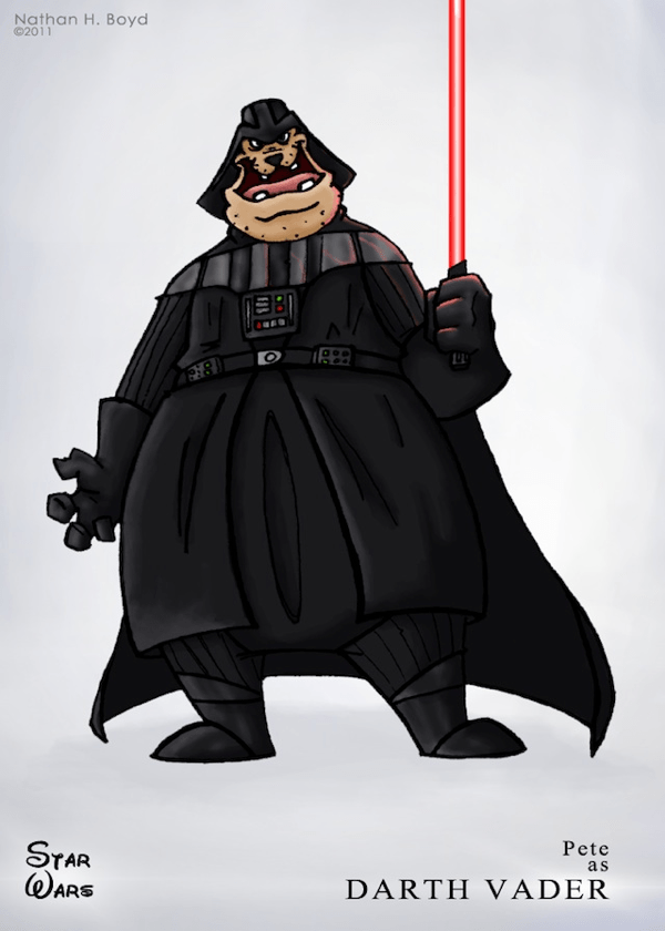 Disney Star Wars Mash-Up