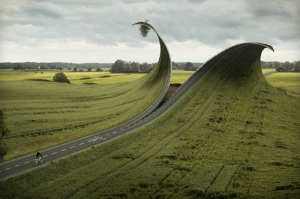 二度見したくなるほど不思議。目の錯覚を起こしたかのような幻想的な光景 - Erik Johansson -