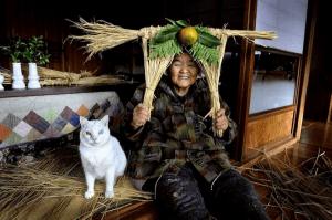 おばあちゃんと猫の愛らしいストーリー。心温まる、みさおとふくまる - Grandmother and Her Cat -