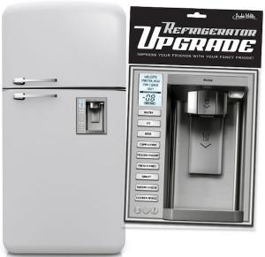 見栄っ張りならすぐ買いたい!貼るだけで高機能冷蔵庫にグレードアップするマグネット - Refrigerator Upgrade Magnet -