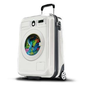 入れておくだけで洗濯できちゃう?!個性的なスーツケースをお探しのあなたに - SuitSuit -