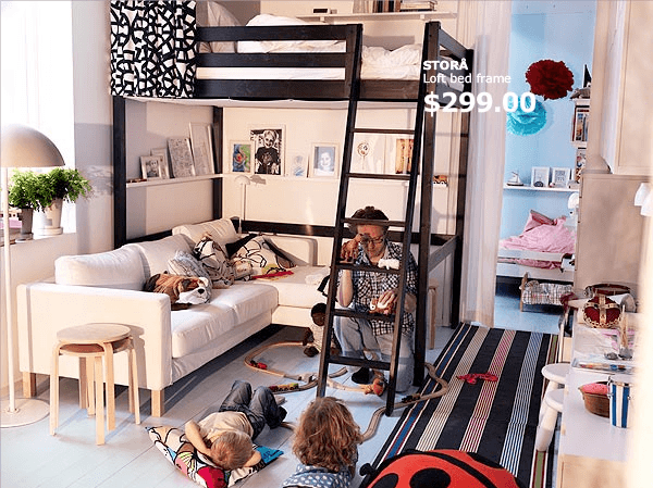 ikea bedroom ideas for small rooms 必見 ikeaのインテリアデザイナーが教える狭い部屋の活用テクニック ikea small spaces 20614