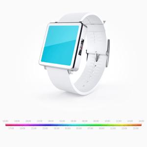 針も数字もない!色だけで時刻を表現するオシャレすぎる腕時計 - Colorclock -