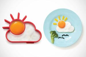 めざまし焼き!朝から気分が晴々しそうな目玉焼きが簡単に作れるキッチン道具 - Sunnyside -