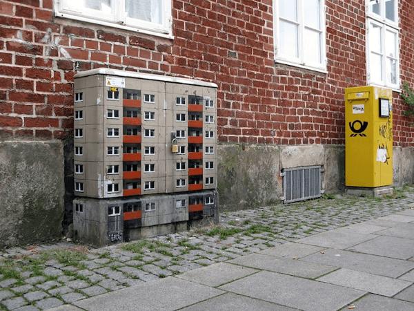 Miniature Apartment Buildings