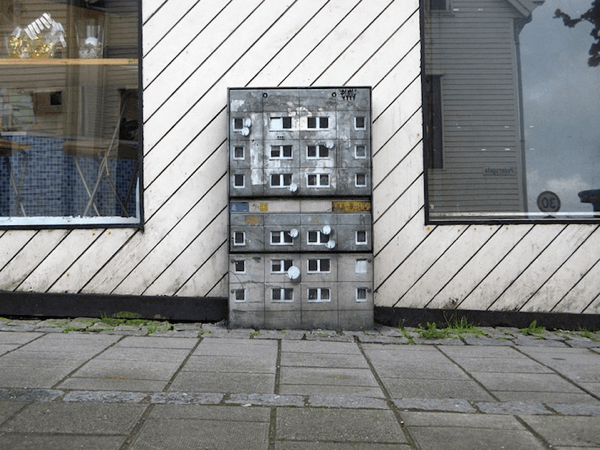 Miniature Apartment Buildings