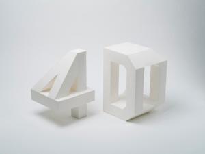 角度を変えて見たらすごさがわかる!4次元のタイポグラフィ - 4D Typography –