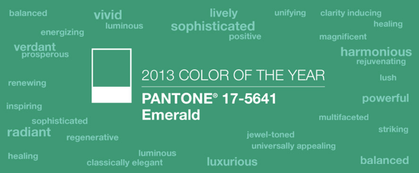 Pantone Color of the Year 2013