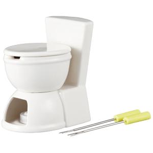 【閲覧注意】冗談がわかる人にあげたい。便器のカタチのチョコフォンデュ - toilet chocolate fondue -
