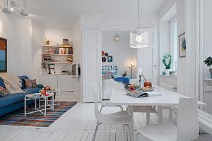 スウェーデンにはオシャレな家しかないの??白基調のステキすぎるお部屋再び - Swedish White Heirloom Apartment -