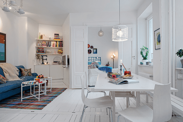 Swedish White Heirloom Apartment