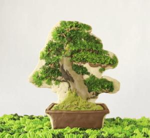 食べるのがもったいない!クッキーでつくる芸術的すぎる盆栽ミニチュア - The edible art of Risa Hirai -