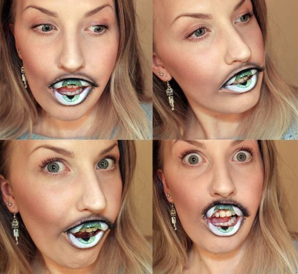 Lip makeup like never before