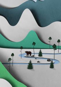 手作りとは思えない!切り絵でつくった美しすぎる風景 - Landscapes of Paper -