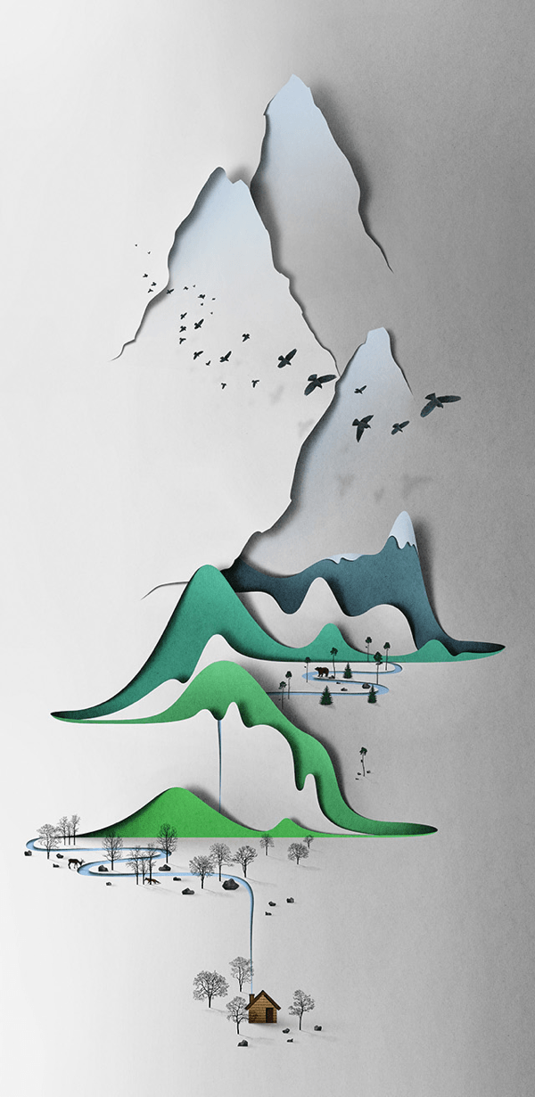 Landscapes of Paper