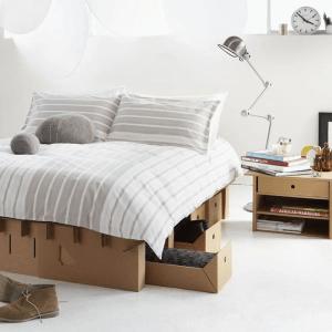 こんなものまで作れるなんて!画期的なダンボールの活用事例 - Cardboard furniture -