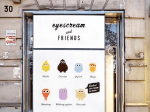 アイデアに脱帽!かわいすぎるモンスターのアイスクリーム - eyescream