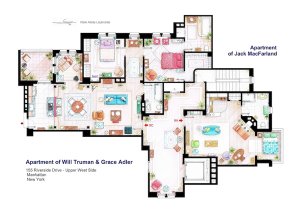 TV FLOOR PLANS and MORE