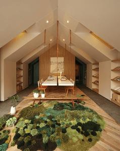 ゴロゴロしてみたい!部屋が草原や森のようになるラグ - Rugs Become Tactile Grasslands