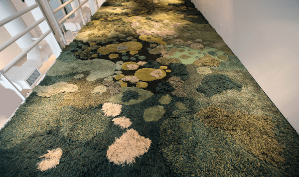 Rugs Become Tactile Grasslands