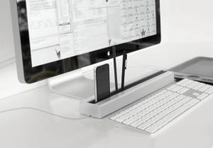 立てるだけでオシャレ!なんでも立てれば机もすっきりできるオーガナイザー - Desk Rail