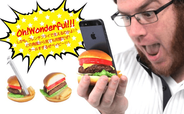 Phone Stand Food