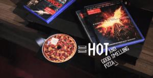 これは食べたくなる!DVDプレイヤーでこんがり焼き上がるドミノピザ - Domino's Pizza Disc