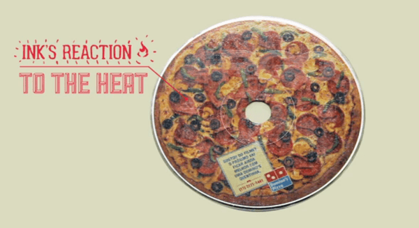 Dominos Pizza Disc