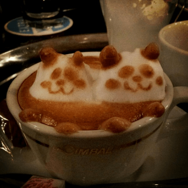 The Unbelievable 3D Latte Art