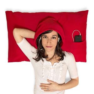 これはちょっと試してみたい!音楽を聴きながら寝たい人にピッタリの枕カバー - HoodiePillow Case