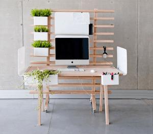 自分好みの作業場作りに! 何通りにも自由にアレンジできるワークデスク - Worknest Table